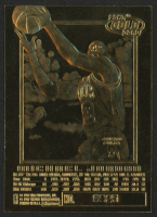 1997 E-X2001 Michael Jordan 23kt Gold Card - Red at PristineAuction.com