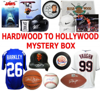Hardwood to Hollywood EXTREME Autograph Mystery Box – Series 2 (6 Signed Collectibles Per Box) (Limited to 75)