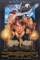 "Daniel Radcliffe Signed 27x40 ""Harry Potter and the Sorcerer's Stone"" Poster Print (Beckett COA) at PristineAuction.com"