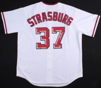 Stephen Strasburg Signed Washington Nationals Jersey (MLB Hologram) at PristineAuction.com