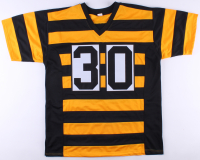 James Conner Signed Steelers Throwback Jersey (JSA COA) at PristineAuction.com
