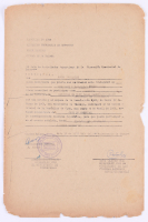 Che Guevara & Raul Castro Signed 1962 Vintage Official Government Document (JSA ALOA)