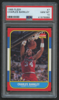 1986-87 Fleer #7 Charles Barkley RC (PSA 10)