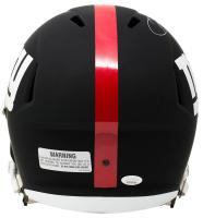 Odell Beckham Jr. Signed Giants Matte Black Full-Size Speed Helmet (JSA COA) at PristineAuction.com