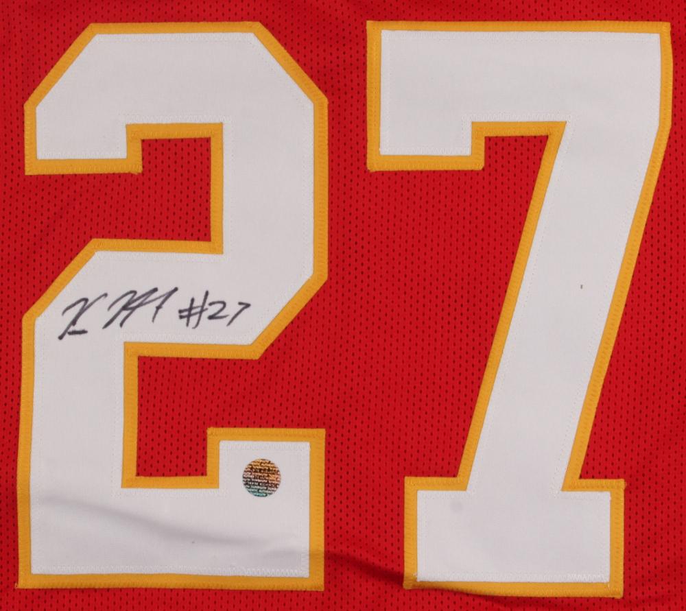 Kareem Hunt Signed Chiefs Jersey (Hunt Hologram) at PristineAuction.com a7d1c042a