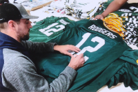 """Aaron Rodgers Signed Jersey Inscribed """"XLV MVP"""" (Steiner Hologram) at PristineAuction.com"""