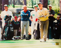 Jack Nicklaus Signed PGA 16x20 Photo (Fanatics Hologram & Nicklaus Hologram)