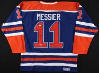 Mark Messier Signed Edmonton Oilers Captain Jersey (JSA LOA & SGC COA)