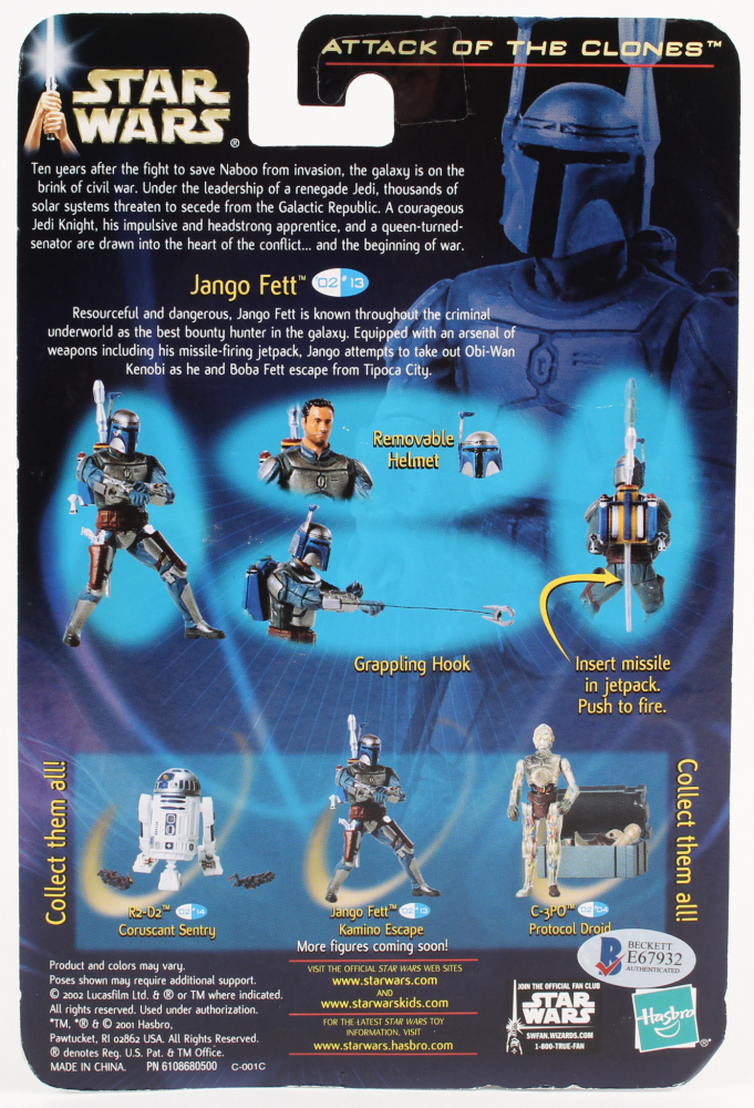 Star Wars-Episode II-ATTACK OF THE CLONES-Elite collection-Jango Fett