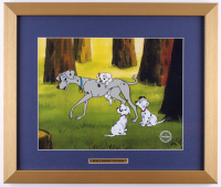 "Walt Disney's ""101 Dalmatians"" 16x19 Custom Framed Animation Serigraph Display"