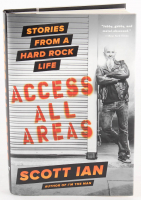 """Scott Ian Signed """"Access All Areas"""" Hardcover Book (Beckett COA) at PristineAuction.com"""