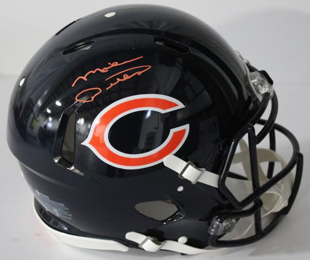 2563ca37ce1 Mike Ditka Signed Bears Authentic On-Field Full-Size Speed Helmet (JSA COA
