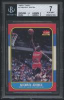 1986-87 Fleer #57 Michael Jordan RC (BGS 7)
