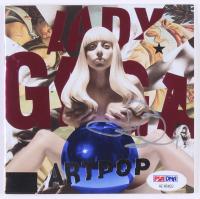 """Lady Gaga Signed """"Artpop"""" CD Album Booklet (PSA COA) at PristineAuction.com"""