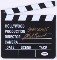 "Mel Brooks Signed ""Spaceballs"" Miniature Clapperboard (PSA COA)"