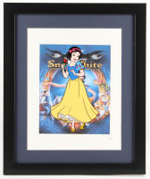 """Snow White"" 16x19 Custom Framed Hand-Painted Animation Cel Display"