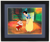 "Walt Disney's ""Snow White"" LE 16x19 Custom Framed Animation Serigraph Cel Display"