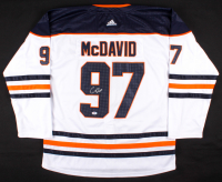 Connor McDavid Signed Oilers Adidas Captains Jersey (PSA COA) at PristineAuction.com