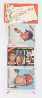 1966 Topps Baseball Unopened Christmas Rack Pack with (12) Cards