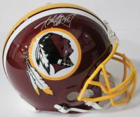 Adrian Peterson Signed Washington Redskins Authentic On-Field Full-Size Helmet (Beckett COA)