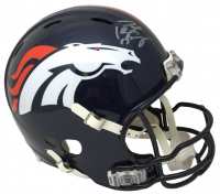 Peyton Manning Signed Broncos Riddell Full-Size Authentic On-Field Speed Helmet (Fanatics Hologram)