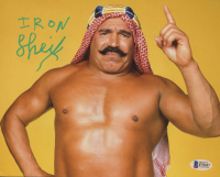The Iron Sheik Signed WWE 8x10 Photo (Beckett COA)