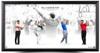 "Tiger Woods Signed ""Masterful"" 18x36 Limited Edition Framed Photo Display (UDA COA)"