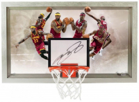 "LeBron James Signed Cleveland Cavaliers ""Deja Vu"" 18.5x30.5 Limited Edition Backboard (UDA COA)"