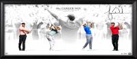 "Tiger Woods Signed ""Masterful"" 18x36 Limited Edition Framed Photo Display (UDA COA)"