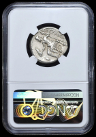 """Alexander III """"The Great"""" 336-323 BC Kingdom of Macedon - Ancient Greek Tetradrachm Silver Coin (NGC Ch VF) Strike: 4/5, Surface: 3/5 at PristineAuction.com"""
