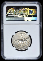 336-323 BC Kingdom of Macedon Alexander III AR (Silver) Tetradrachm (16.99g) Lifetime-Early Posthumous obv Heracles rv Zeus  (NGC VF) Strike: 4/5, Surface: 4/5 at PristineAuction.com