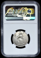 336-323 BC Kingdom of Macedon Alexander III AR (Silver) Tetradrachm (17.02g) Early Posthumous Issue obv Heracles rv Zeus  (NGC VF) Strike: 5/5, Surface: 4/5 at PristineAuction.com