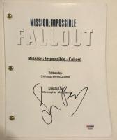 "Simon Pegg Signed ""Mission: Impossible - Fallout"" Full Movie Script (PSA COA) at PristineAuction.com"