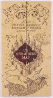 Daniel Radcliffe Signed Marauder's Map (Beckett COA)