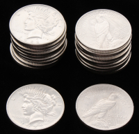 Lot of (20) 1922-1923 Uncirculated Peace Silver Dollars