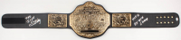 "Steve ""Sting"" Borden Signed WCW Heavyweight Championship Belt Inscribed ""The Icon"", ""HOF 16"" & ""6x WCW Champ"" (JSA COA)"