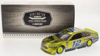 Ryan Blaney Signed NASCAR #12 2018 Penzoil / Darlington ARC - Color Chrome - Fusion 1:24 Premium Action Diecast Car (PA COA)
