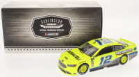 Ryan Blaney Signed NASCAR #12 2018 Penzoil / Darlington Fusion 1:24 Premium Action Diecast Car (PA COA)
