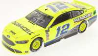 Ryan Blaney Signed NASCAR #12 2018 Penzoil / Darlington Fusion 1:24 Premium Action Diecast Car (PA COA) at PristineAuction.com