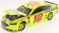 Ryan Blaney Signed NASCAR #12 2018 Menards Can-Am Duel #1 Win Fusion 1:24 Premium Action Diecast Car (PA COA) at PristineAuction.com