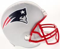Tom Brady Signed Patriots Full-Size Helmet (Tristar Hologram & Fanatics Hologram)