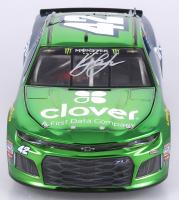 Kyle Larson Signed NASCAR #42 Clover / First Data 2018 Camaro ZL1 - Color Chrome - 1:24 Premium Action Diecast Car (PA COA)