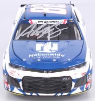 Alex Bowman Signed NASCAR #88 Nationwide Patriotic 2018 Camaro - 1:24 Premium Action Diecast Car (PA COA)