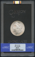 1881-CC $1 Morgan Silver Dollar (NGC MS 64)
