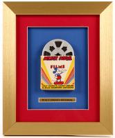 "Walt Disney's ""Mickey Mouse & Silly Symphony Cartoons"" 16x19 Custom Framed Film Display"