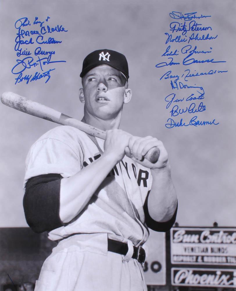 8d028fa94e6 New York Yankees 16x20 Photo Signed by (16) with Duke Carmel