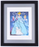 "Walt Disney's ""Cinderella"" 16x19 Custom Framed Animation Serigraph Display"