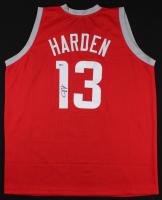James Harden Signed Houston Rockets Jersey (Beckett COA)