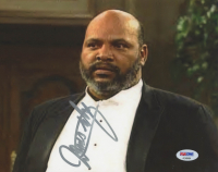 """James Avery Signed """"The Fresh Prince of Bel-Air"""" 8x10 Photo (PSA COA)"""