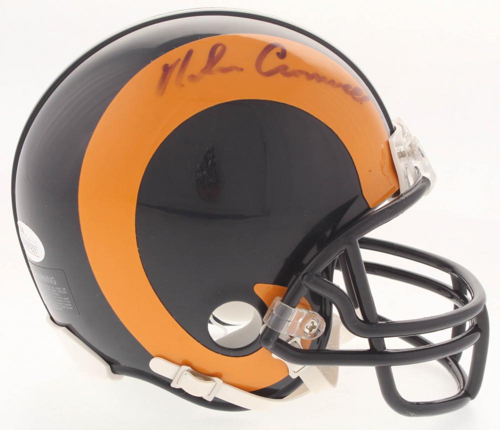 Nolan Cromwell Signed Rams Throwback Mini-Helmet (JSA COA) at  PristineAuction.com ecb2d9124